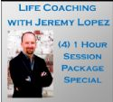 C(4) One Hour Life Coaching Session Package Special - Click To Enlarge