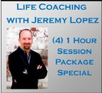 (4) One Hour Life Coaching Session Package Special