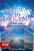 Gateway to Dreams: 3 Simple Steps to Dream Interpretation (E-Book PDF Download) by Teresa Ward