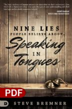 Nine Lies People Believe About Speaking in Tongues (E-book PDF Download) by Steve Bremner