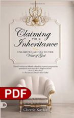 Claiming Your Inheritance: Unlimited Access to the Voice of God (E-Book PDF Download) by Cherrie Kaylor