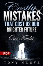 Costly Mistakes That Cost Us Our Brighter Future   Our Faults (E-book PDF Download)