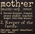 CSign-Mother Definition-Square (6 x 6) - Click To Enlarge